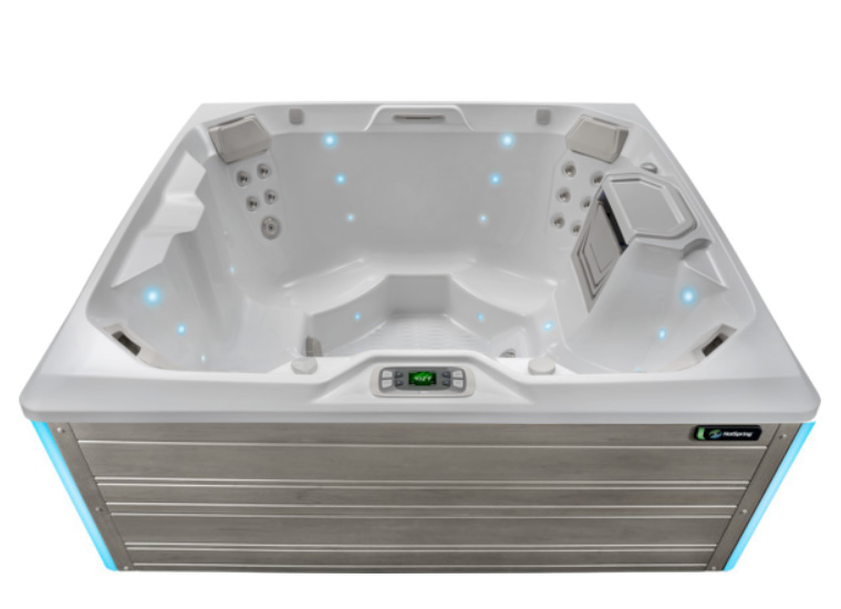 Glow 4 person Hot Tub from Limelight Collection